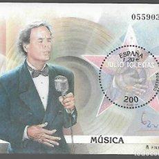 Sellos: HOJITA DENTADA,-EXPOSICION MUNDIAL FILATELIA ESPAÑA 2000.- VER FOTO. Lote 288096848