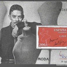 Sellos: HOJITA DENTADA,-EXPOSICION MUNDIAL FILATELIA ESPAÑA 2000.- VER FOTO. Lote 288096933