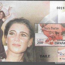 Sellos: HOJITA DENTADA,-EXPOSICION MUNDIAL FILATELIA ESPAÑA 2000.- VER FOTO. Lote 288096973