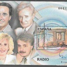 Sellos: HOJITA DENTADA,-EXPOSICION MUNDIAL FILATELIA ESPAÑA 2000.- VER FOTO. Lote 288097083
