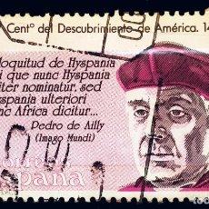 Sellos: ESPAÑA - V CENTENARIO DESCUBRIMIENTO DE AMERICA - 1986. Lote 288128818