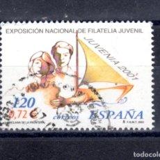 Sellos: ED Nº 3781 JUVENIA`2001 USADO. Lote 288195323