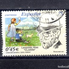 Sellos: ED Nº 3802 LITERATURA ESPAÑOLA USADO. Lote 288196353