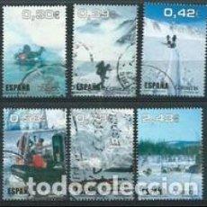 Sellos: SELLOS USADOS DE ESPAÑA 2007, EDIFIL SH 4345A/ 45F. Lote 288218318