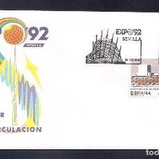Sellos: ESPAÑA 1992 - SPD-FDC - EXPO-92- EDIFIL Nº 3155. Lote 288675038