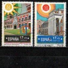 Sellos: EDIFIL 3228/31, MADRID CAITAL EUROEA DE LA CULTURA 1992, USADO, SERIE COMLETA. Lote 288685563