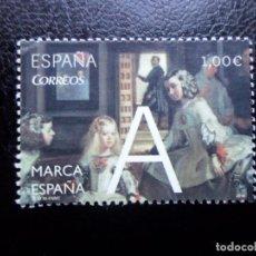 Sellos: -2014, MARCA ESPAÑA, LAS MENINAS, EDIFIL 4881. Lote 288731388