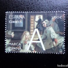Sellos: -2014, MARCA ESPAÑA, LAS MENINAS, EDIFIL 4881. Lote 288731488