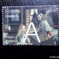 Sellos: -2014, MARCA ESPAÑA, LAS MENINAS, EDIFIL 4881. Lote 288731548