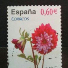 Sellos: ESPAÑA DALIA 2098 FLORES SELLO USADO. Lote 288746218