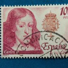 Sellos: USADO. AÑO 1979. EDIFIL 2556. REYES DE ESPAÑA. CASA DE AUSTRIA - CARLOS II.. Lote 288967443
