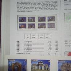 Sellos: SELLOS ESPAÑA AÑO 2012 N°4681 C SERIE COMPLETA NUEVO EN CARNET. Lote 289023673