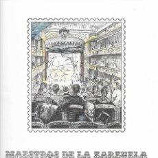 Sellos: SELLOS DE ESPAÑA AÑO 1983 DOCUMENTO FILATELICO , MAESTROS DE LA ZARZUELA. Lote 289435363