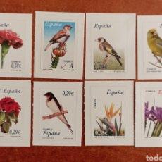 Selos: ESPAÑA N°4212/19 MNH** FLORA Y FAUNA 2006 (FOTOGRAFÍA REAL). Lote 289700658