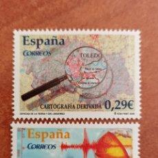 Selos: ESPAÑA N°4254/55 MNH** CIENCIAS DE LA TIERRA Y DEL UNIVERSO 2006 (FOTOGRAFÍA REAL). Lote 289700748