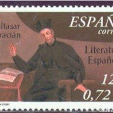 Sellos: ESPAÑA N°3808 MNH** LITERATURA ESPAÑOLA 2001 (FOTOGRAFÍA ESTÁNDAR). Lote 289701278