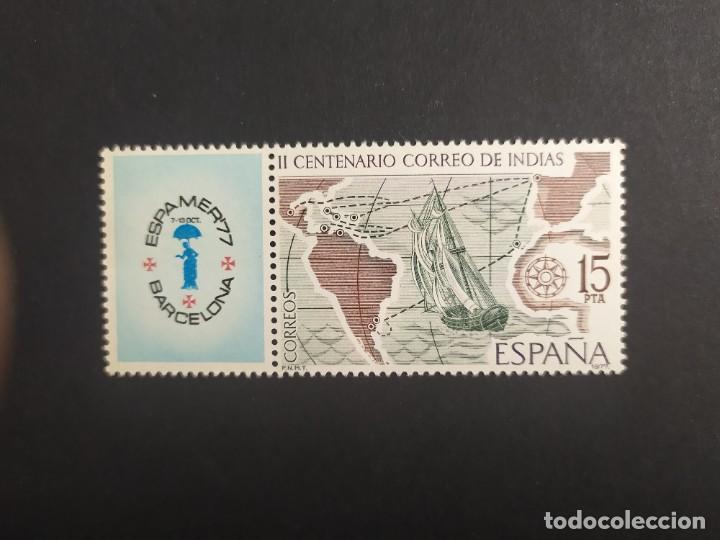 ## ESPAÑA NUEVO 1977 ESPAMER 77 ## (Sellos - España - Juan Carlos I - Desde 1.975 a 1.985 - Nuevos)