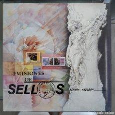Sellos: LIBRO OFICIAL DE CORREOS 2003, ESPAÑA Y ANDORRA ESPAÑOLA. ÁLBUM CON FILOESTUCHES. SIN SELLOS. SPAIN. Lote 289758223