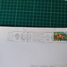 Sellos: BARCELONA 1983 AÑO COMUNICACIONES MATASELLO RODILLO. Lote 289782818