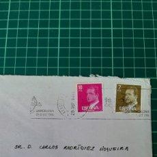 Sellos: MADRID 1984 MATASELLO RODILLO ALIMENTARIA. Lote 289783328