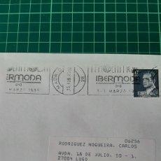 Sellos: 1885 MADRID IBERMODA MATASELLO RODILLO. Lote 289783533