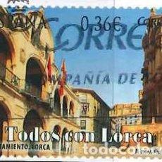 Sellos: ESPAÑA - AÑO 2012 - EDIFIL 4693 - TODOS CON LORCA - USADO. Lote 289860168