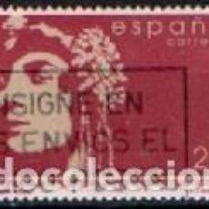 Sellos: EDIFIL Nº 3152, MARGARITA XIRGU, USADO. Lote 289867378