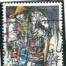Sellos: ESPAÑA - AÑO 1988 - EDIFIL 2977 - NAVIDAD - USADO. Lote 290065283