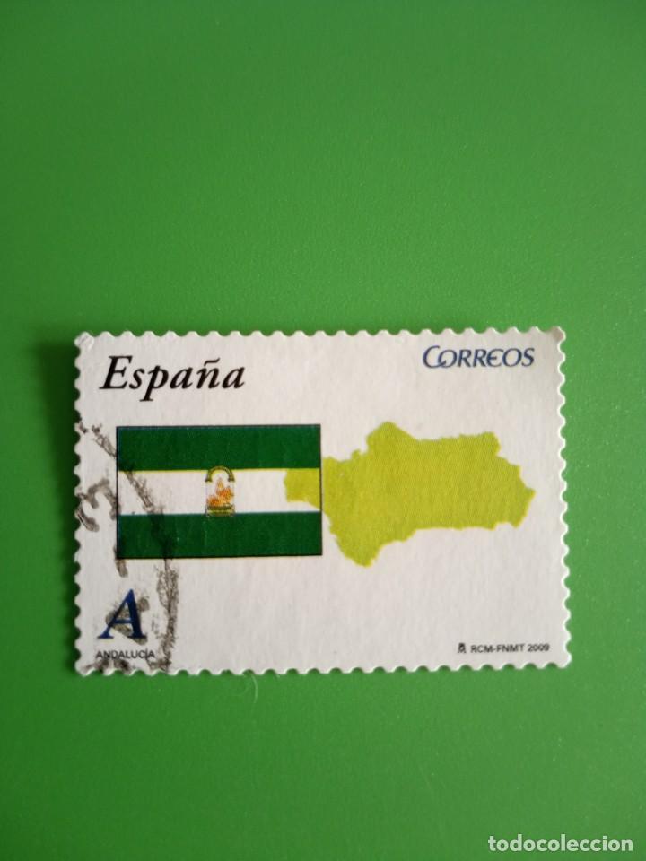 SELLO ESPAÑA USADO 2009 (Sellos - España - Juan Carlos I - Desde 2.000 - Usados)