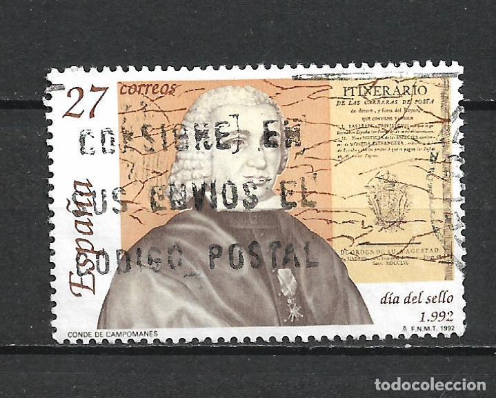 ESPAÑA 1992 SELLO USADO - 8/60 (Sellos - España - Juan Carlos I - Desde 1.975 a 1.985 - Usados)