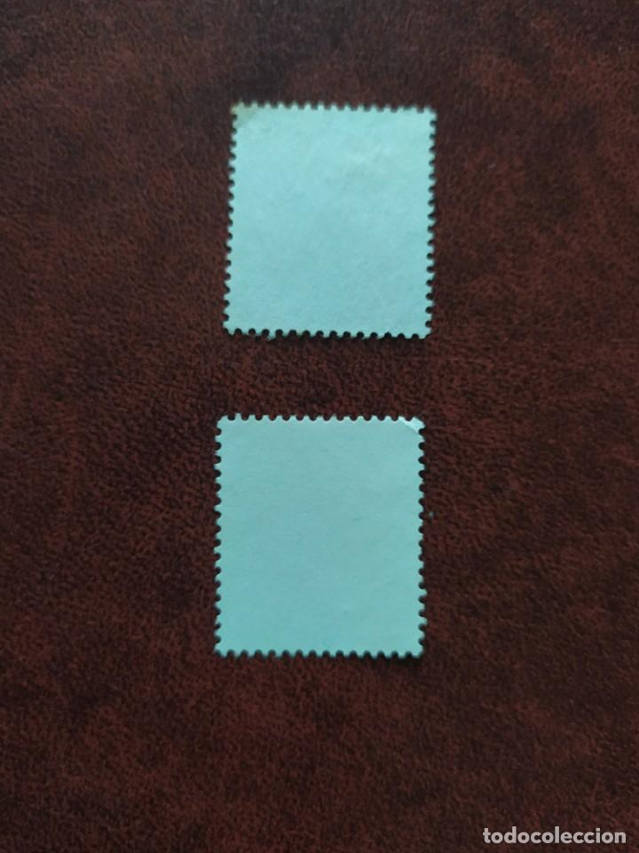 Sellos: ## España Usado JuanCarlos I Serie basica 2 sellos ## - Foto 2 - 290143528