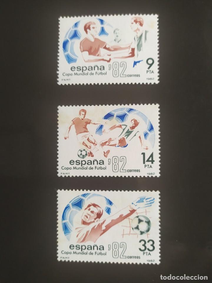 ## ESPAÑA NUEVO 1982 MUNDIAL ESPAÑA 82 3 SELLOS ## (Sellos - España - Juan Carlos I - Desde 1.975 a 1.985 - Nuevos)
