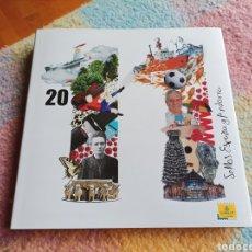 Sellos: LIBRO OFICIAL DE CORREOS DE EMISIONES DE SELLOS DE ESPAÑA Y ANDORRA 2011. CON SELLOS Y FILOESTUCHES. Lote 290548878