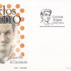 Sellos: SOBRE CON MATASELLOS PRIMER DIA DE CARLOS CANO Nº 3841. Lote 290563523