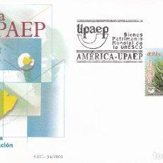 Sellos: SOBRE CON MATASELLOS PRIMER DIA DE DIA DEL AMERICA UPAEP Nº 3821. Lote 290563898