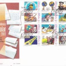 Sellos: SOBRE CON MATASELLOS PRIMER DIA DE CORRESPONDENCIA ESPITOLAR Nº 3822/30. Lote 290565618