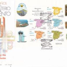 Sellos: SOBRE CON MATASELLOS PRIMER DIA DE MINISTERIO DE FOMENTO Nº 3855. Lote 290565758