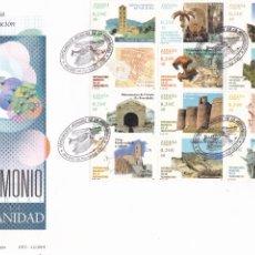 Sellos: SOBRE CON MATASELLOS PRIMER DIA PATRIMONIO DE LA HUMANIDAD Nº 3843. Lote 290566053