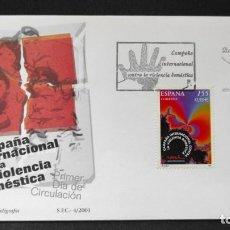 Sellos: SELLOS ESPAÑA OFERTA SOBRE DEL PRIMER DÍA AÑO 2001 SERIE COMPLETA. Lote 292232978