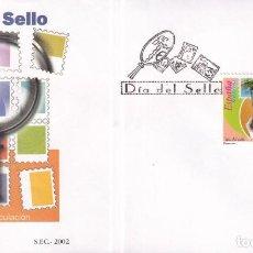 Sellos: SELLOS ESPAÑA OFERTA SOBRE DEL PRIMER DÍA AÑO 2002 SERIE COMPLETA. Lote 292234883