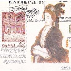Selos: SELLOS ESPAÑA OFERTA HOJITA BLOQUE EN USADO. Lote 293207508
