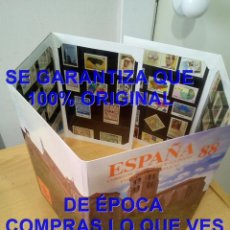 Sellos: ESPAÑA SELLOS 88 1988 CORREOS U70. Lote 293662133
