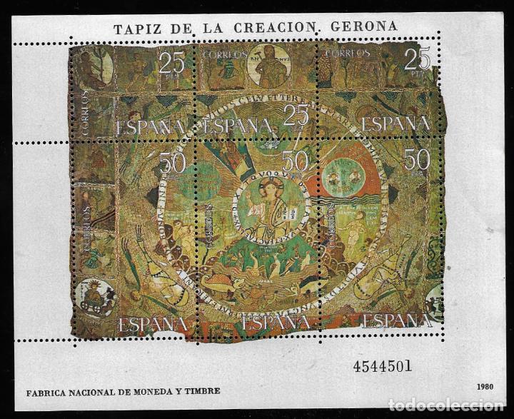 JUAN CARLOS I - TAPIZ DE LA CREACIO - GERONA - EDIFIL 5583 2591 - 1980 (Sellos - España - Juan Carlos I - Desde 1.975 a 1.985 - Nuevos)