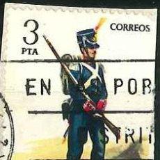 Sellos: ESPAÑA - AÑO 1976 - EDIFIL 2352 - UNIFORMES MILITARES (VI GRUPO) - USADO. Lote 293893773