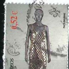 Sellos: ESPAÑA - AÑO 2013 - EDIFIL SH4813D - MODA ESPAÑOLA - PACO RABANNE - USADO. Lote 293894258