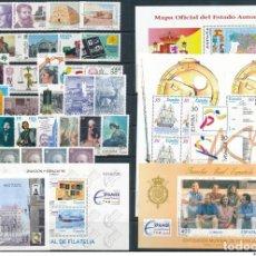 Sellos: SELLOS NUEVOS ESPAÑA AÑO 1996 COMPLETO EDIFIL 3406 3464 MNH ** INCLUYE HB. Lote 293958933