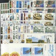 Sellos: BLOQUE DE 4 SELLOS NUEVOS ESPAÑA AÑO 1997 COMPLETO EDIFIL 3465 3524 MNH ** INCLUYE HB. Lote 293961908