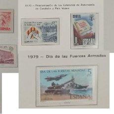 Sellos: 9 SELLOS NUEVOS DE ESPAÑA - PROVIENEN DE COLECCION PRIVADA. Lote 294043988