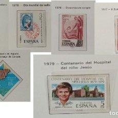 Sellos: 6 SELLOS NUEVOS DE ESPAÑA - PROVIENEN DE COLECCION PRIVADA. Lote 294044478