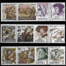 Sellos: JUAN CARLOS I - CENTENARIOS - 1978 - EDIFIL 2460-68.. Lote 294046493